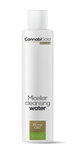 CannabiGold Ultra Care Micellar cleansing water  Oily and combination skin